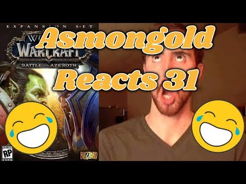 Asmongold Reacts To Taliesin WoW's Classic Problem, BfA's Azerite Fail: WoW News