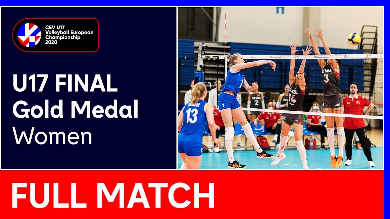 Gold Medal Final: Turkey vs. Russia – #EuroVolleyU17W