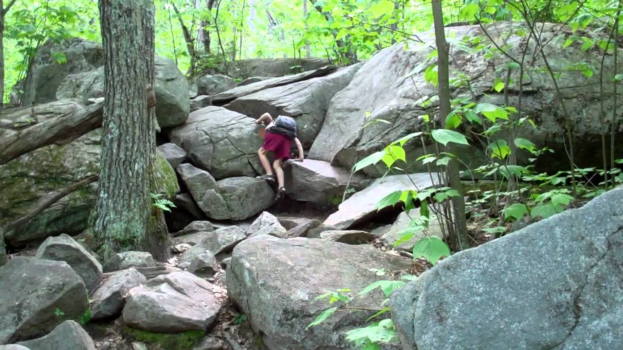 New Hampshire Hiking for the Whole Family - Mt. Major - YouTube