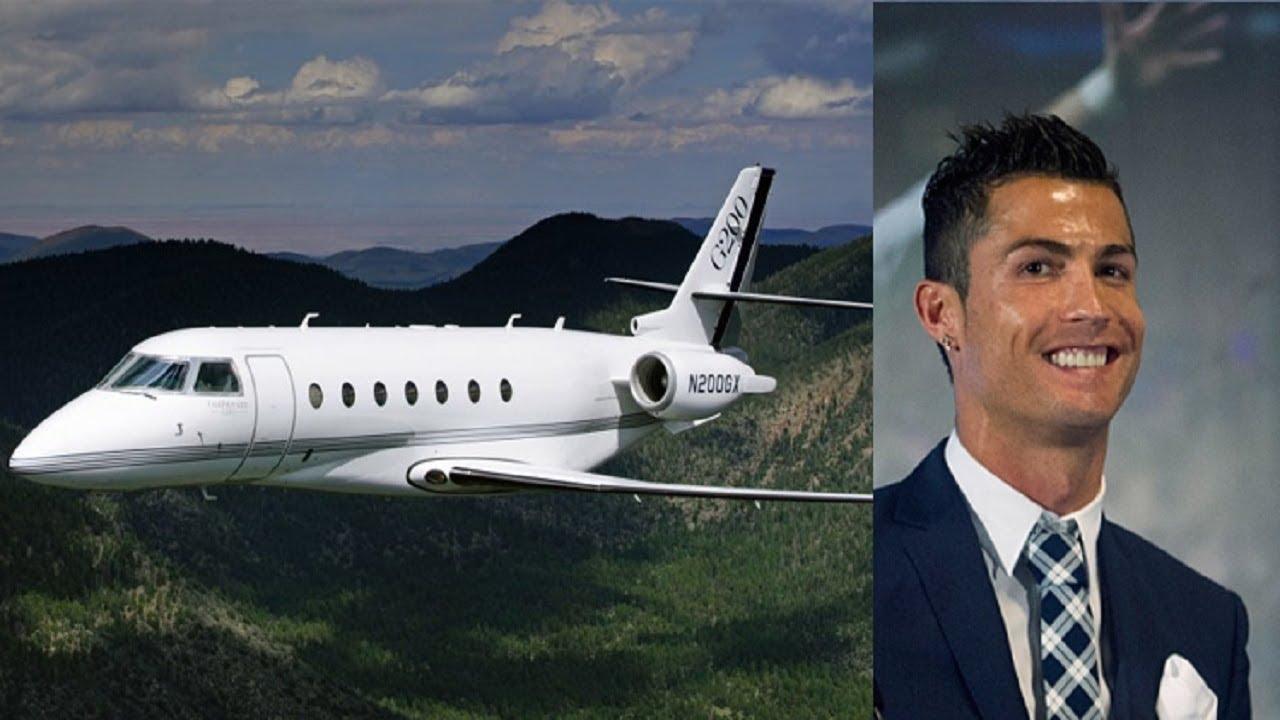 Cristiano Ronaldo $40 Million Luxury Private Jet ...
