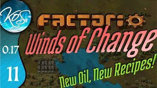 Factorio 0.17 Ep 11: TRAIN SIGNALING - Winds of Change - Tutorial Let's Play, Gameplay
