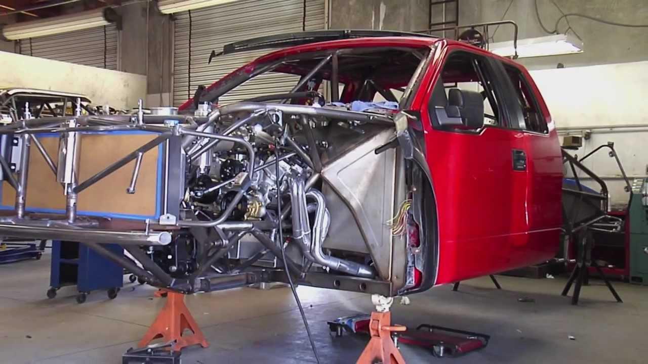 Stewart's RaceWorks / TSCO - Ford Raptor Luxury Pre-Runner ...