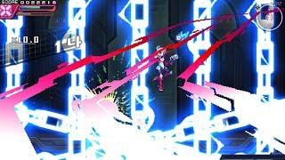 Azure Striker Gunvolt 2: Beating DLC Gunvolt after he heals himself! (Nintendo Switch)