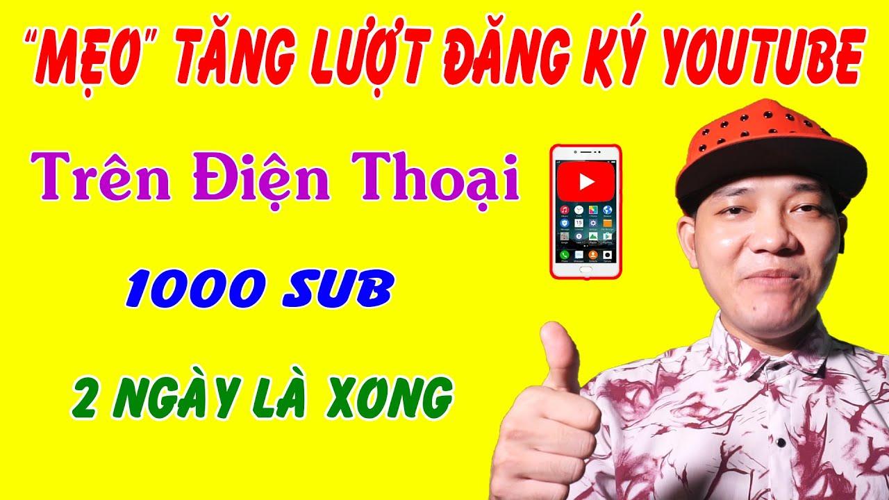 Tăng Sub Youtube Cực Nhanh 2020
