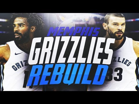 THIS TEAM IS SUPER OVERPOWERED!! REBUILDING THE MEMPHIS GRIZZLIES! NBA 2K18
