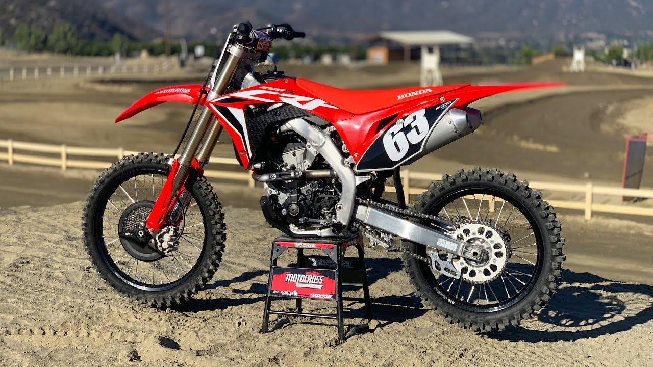 First Ride 2020 Honda Crf250 Motocross Action Magazine Youtube
