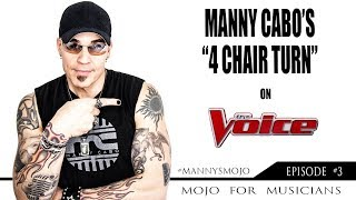 Manny Cabo |The Voice | Blind Audition | 2015