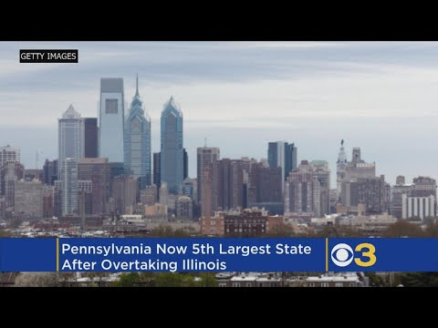 Pennsylvania Now 5th Largest State In The Country