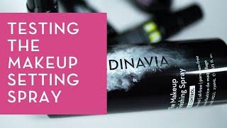 Skindinavia Finishing Spray - Setting Spray Test