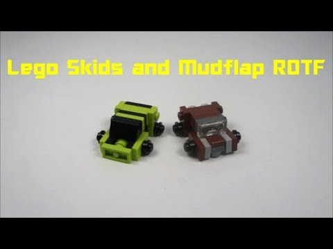 How To Build Lego Skids And Mudflap (ROTF)