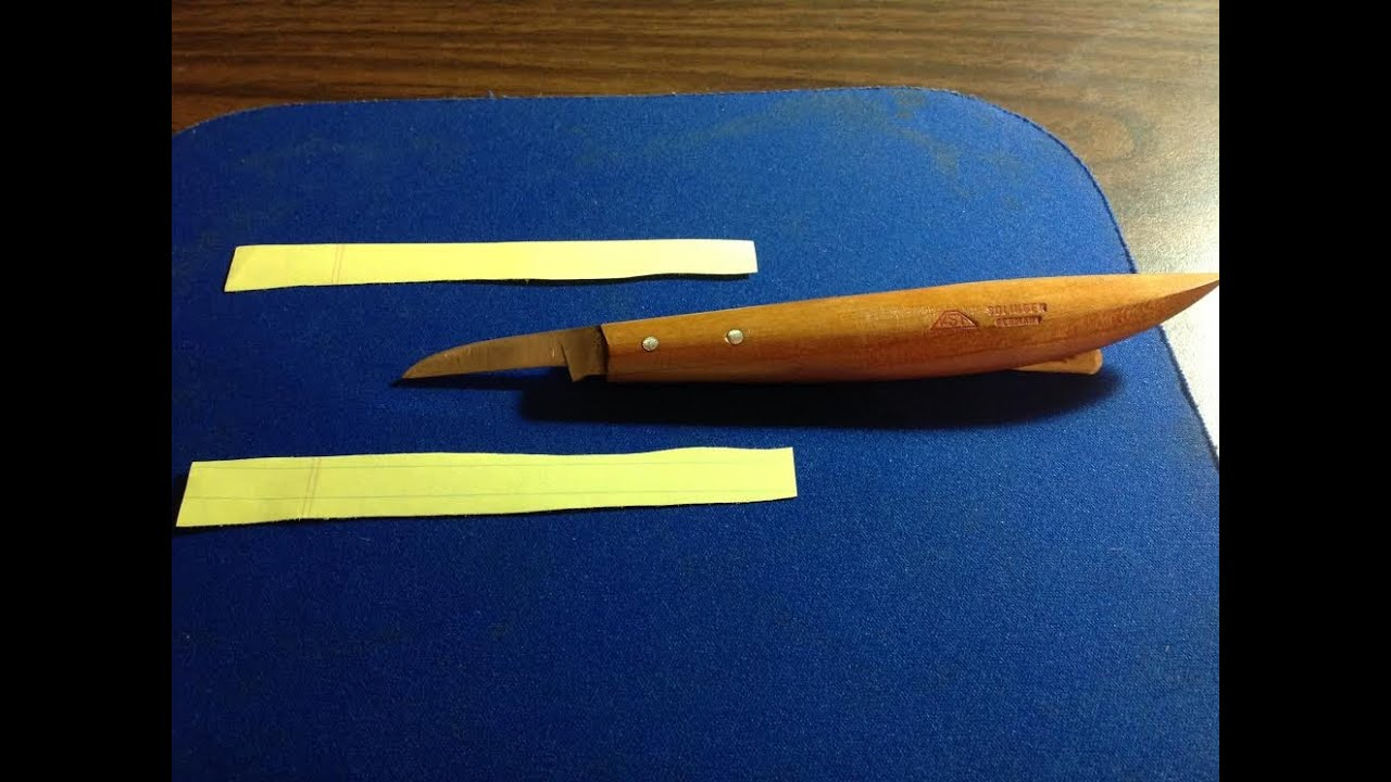 How to sharpen your carving knives razor sharp doovi