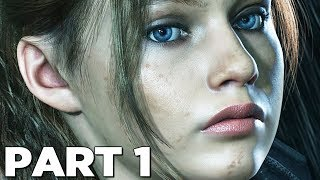 RESIDENT EVIL 2 REMAKE Walkthrough Gameplay Part 1 - REDFIELD (RE2 CLAIRE)