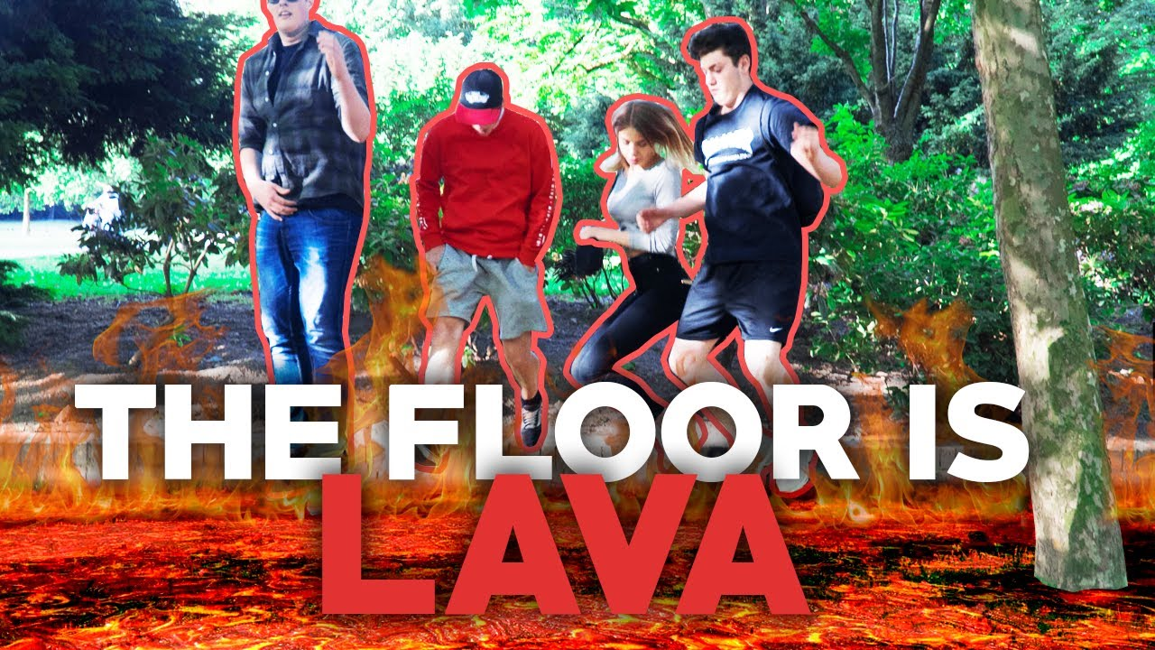 Der boden ist lava the floor is lava challenge for Boden ist lava