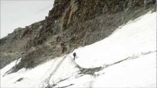 Wielki Kuluar - Grand Couloir - Rolling Stones - Mont Blanc 2010