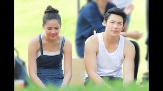 Kluen Cheewit ll Jee and Sathit so funny and cute together ll behind the scene