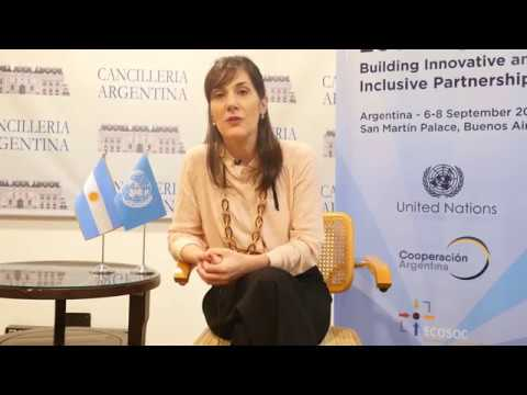 ANA CIUTI - Director of International Cooperation - Argentina