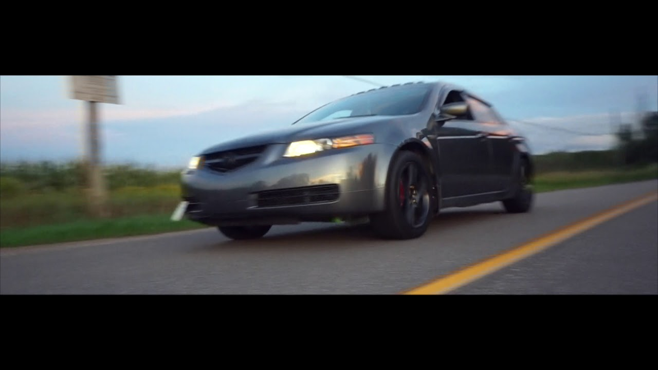 Acura TL Rims Get Painted Gloss Black YouTube - 2004 acura tl rims