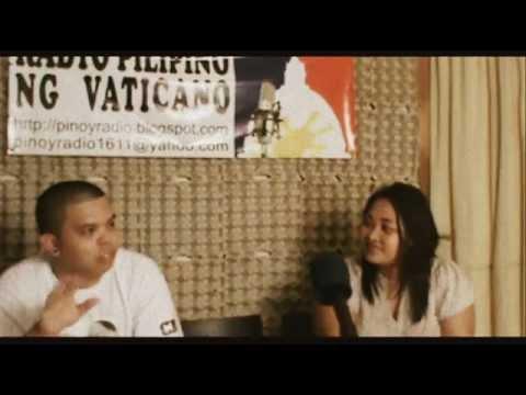 TAHJACK TIKAZ ON RADIO VATICANO IN ROME ITALY
