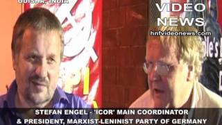 ICOR MAIN COORDINATOR AND GERMANY COMMUNIST LEADER STEFAN ENGEL ON SOCIALIST  MOVEMENT IN THE WORLD