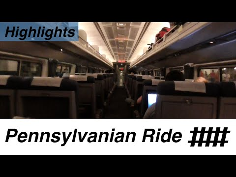 Amtrak Pennsylvanian Ride Highlights With Signals on the NEC, KC & PL