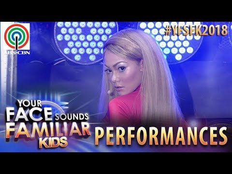 Your Face Sounds Familiar Kids 2018: Krystal Brimner as Britney Spears   Oops I Did It Again
