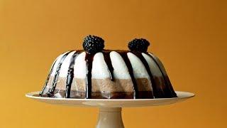 No-Bake Three Layer Chocolate Cake