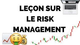 Leçon sur la gestion du risque en trading - Formation Forex Gratuite