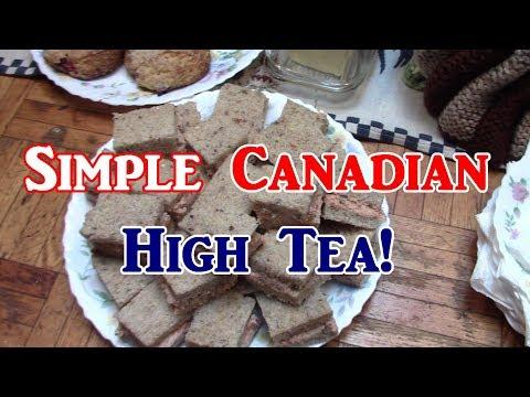 Simple Canadian High Tea