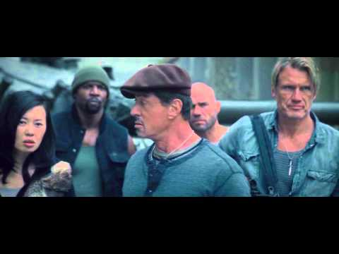 The Expendables 2 - Fun Moments