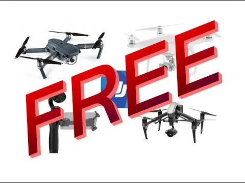 How To Get Free DJI Mavic/Spark/Phantom/Osmo/Inspire! #LEGIT#