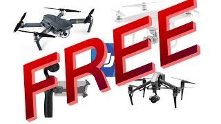 How to get free DJI Mavic/Spark/Phantom/Osmo/Inspire! #LEGIT#