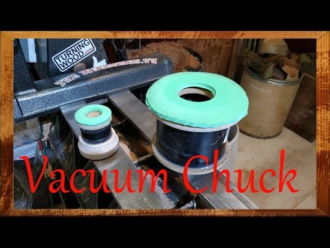How To Make A Vacuum Chuck For The Lathe- Woodturning Project