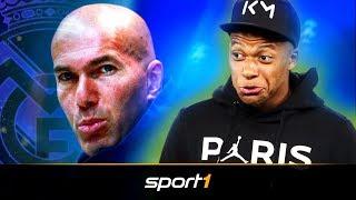 Nach Zidane-Comeback: Führt Mbappe Real Madrid ins neue Zeitalter? | SPORT1 - TRANSFERMARKT-SHOW