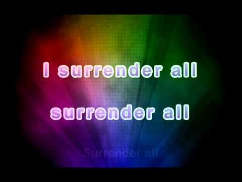 I Surrender All - Caedman's Call (lyrics)
