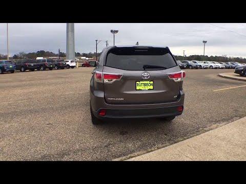 2016 Toyota Highlander Tyler, Longview, Lufkin, Nacogdoches, Shreveport, TX T2638A
