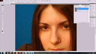 Как убрать дефекты кожи в Adobe Photoshop. Урок №2