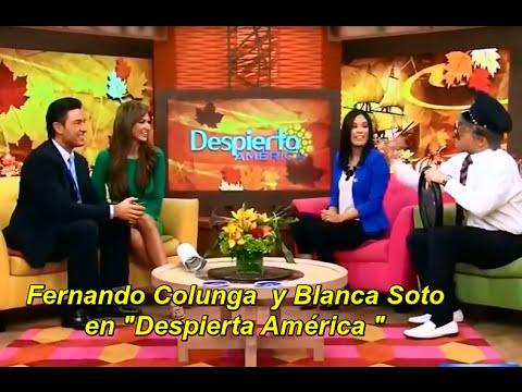Fernando Colunga y Blanca Soto en Despierta América