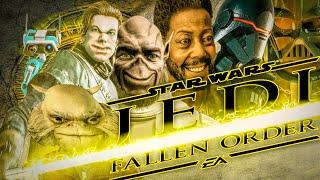 Звёздная Залупа Jedi Fallen Order как Глоток Мочи