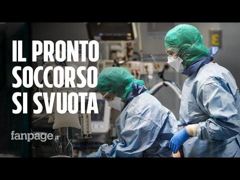 Il pronto soccorso a Parma si svuota: è la prima vittoria contro il coronavirus