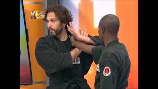 K24TV Self defense Kenya