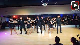 Amaya Dance Student Performance at Culture Beat Salsa Social Houston