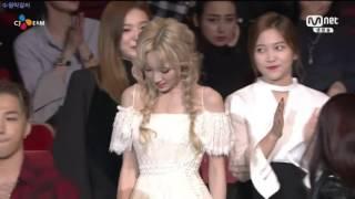 151202 mama 2015 베스트 여자 가수상 태연 taeyeon