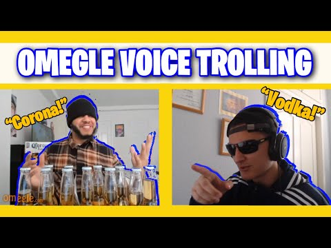 Russian Voice Trolling On Omegle!
