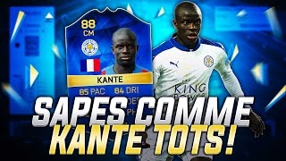 SAPÉS COMME KANTÉ TOTS ! - FUT 16 TEAM OF THE SEASON