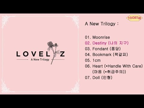 [Full Album] Lovelyz (러블리즈) - A New Trilogy [2nd Mini Album]