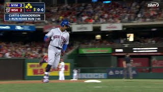 NYM@WSH: Granderson ties it in 9th with two-run homer