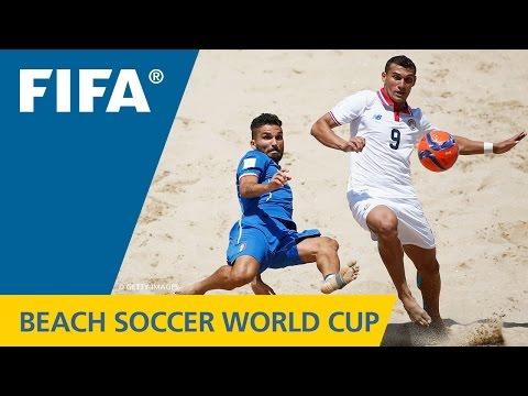 HIGHLIGHTS: Italy v. Costa Rica - FIFA Beach Soccer World Cup 2015