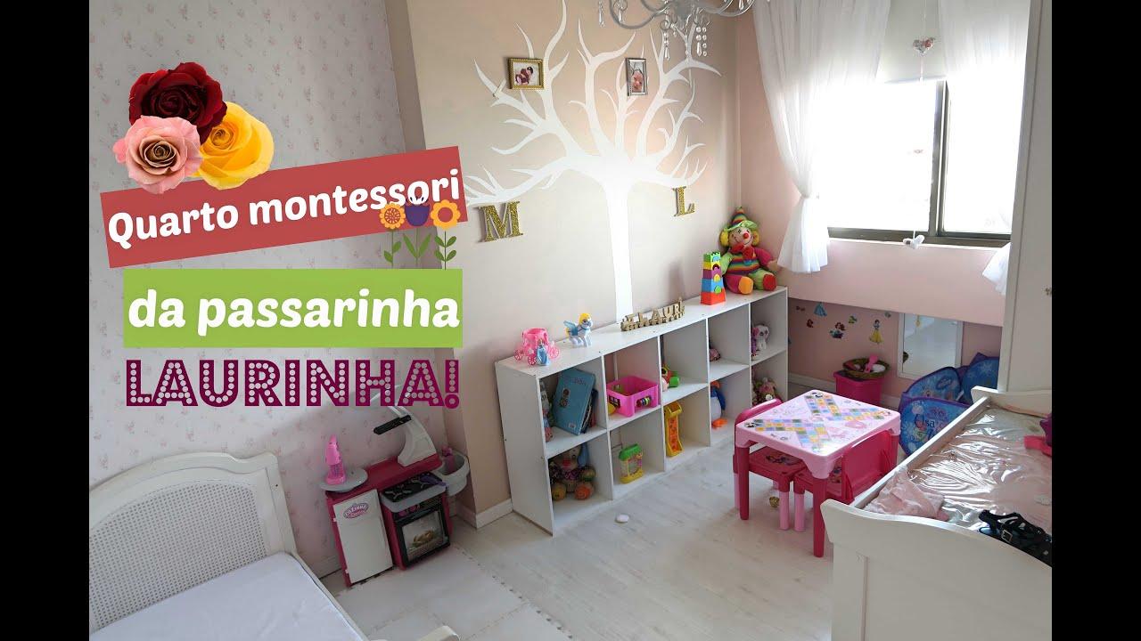 Veda 7 quarto montessori da passarinha youtube for Montessori da ikea