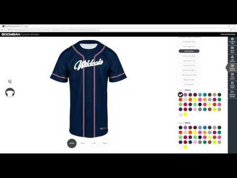 Baseball Uniform Builder - Boombah INK