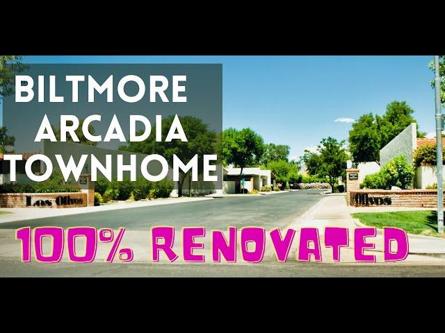 2842 E Avenida Olivos, Phoenix, AZ 85016 - AZ Biltmore Arcadia Townhome